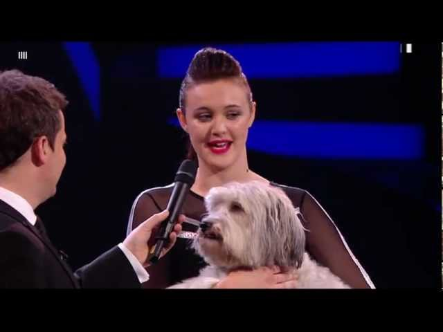 ASHLEIGH PUDSEY WINNERS OF BRITAINS GOT TALENT 2012 - HIGH QUALITY-