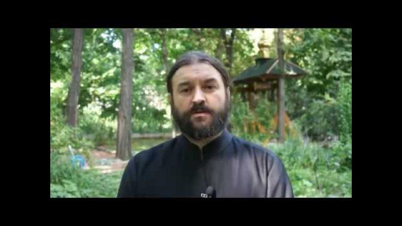 Успенский пост, информационный пост в больном мире. Протоиерей Андрей Ткачёв
