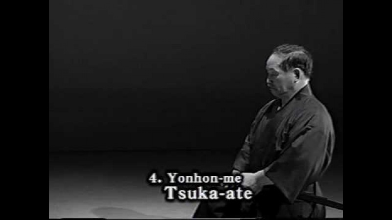 4. Iaido Kata Seitei 04 Yonhon-me - Tsuka-ate - High quality - www.thesamuraiworkshop.com