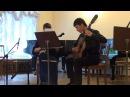 А.Медведева - дуэт для домры и гитары Фантазия из Нового Света