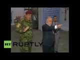Iraq PM al-Abadi welcomes citizens to the re-opened Green Zone