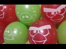 10 Angry Birds Balloons Pop!