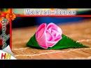 Бутон Розы. Роза канзаши мастер-класс.Rosebud. Rose kanzashi master class.