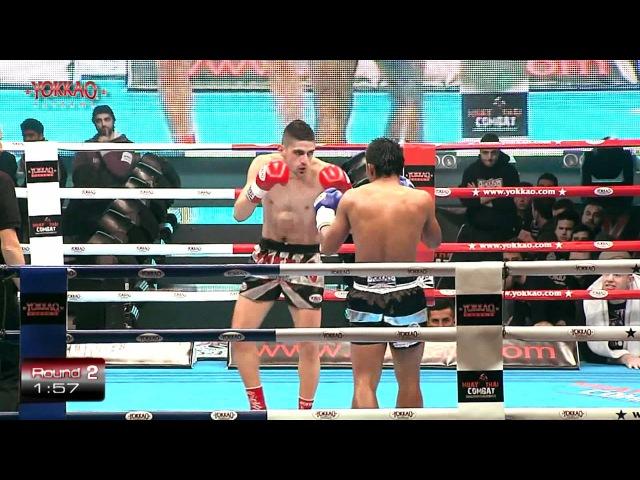 Imwiset Pornnarai vs Angelo Campoli Yokkao Extreme 2012 FULL-HD