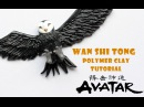 Wan Shi Tong Owl 萬事通 Polymer Clay Tutorial (Avatar: The Last Air Bender)
