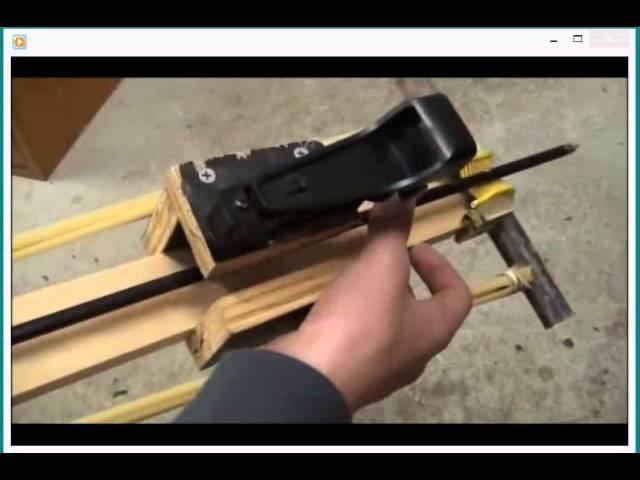 как сделать мощный арбалет самострел своими руками