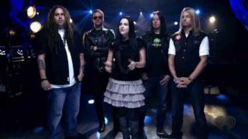 What You Want - Evanescence live Z100 (Halloween)