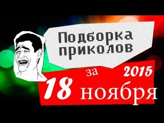 Подборка приколов за 18 ноябрь 2015 (ежедневная лучшая подборка)