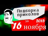 Подборка приколов за 16 ноябрь 2015 (ежедневная лучшая подборка)