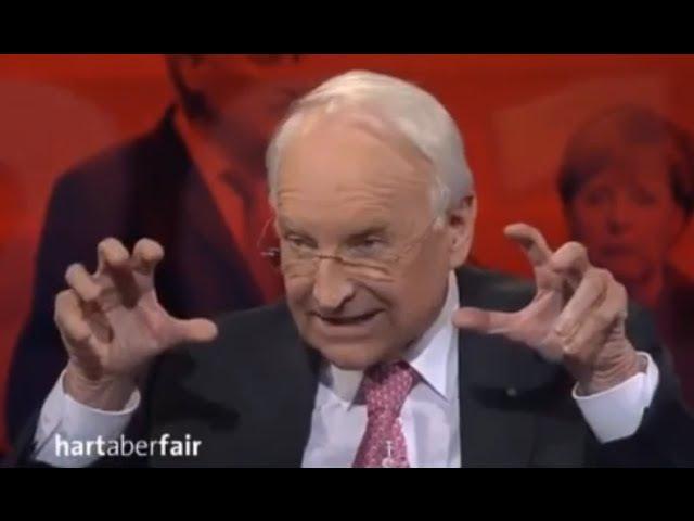 Stoibers Brandrede gegen wahnsinnige Merkel-Massen-Einwanderungspolitik