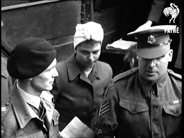 The Belsen Trial: War Crimes of the SS (1945) | British Pathé (2014) - Бельзенский процесс, Берген-Бельзен, Ганновер, Нижня
