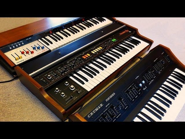 70s Analog Stringmachine Trilogy - Crumar Performer, Roland VP-330, Logan String Melody