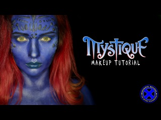 X-men Mystique MakeUp Tutorial - NYX FACE AWARDS RUSSIA 2016 ENTRY
