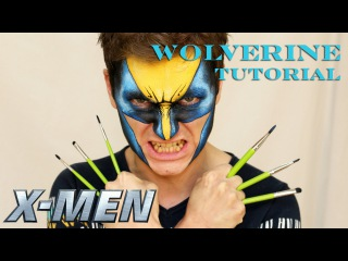 Wolverine X-Men — Makeup & Face Painting Tutorial for Boys
