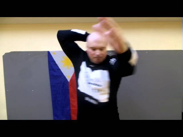 12 elbow strikes Russian Army Panantukan Tactical RAPT 12 ударов локтями