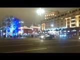 ЧПХ представляет: Кортеж В.В.Путина едет по новогодней Москве
