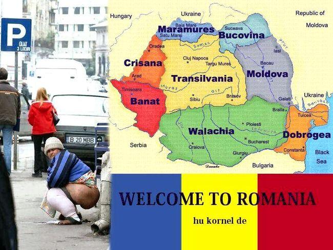 Я – румын.