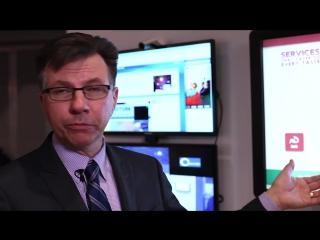 Компания Cisco цифровых СМИ взаимодействие с клиентами и сотрудниками в магазине