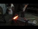 Кованая гарда для каролингского меча