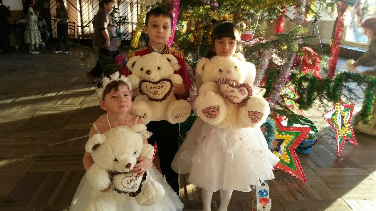 В станице Зеленчукской «Дети-Ангелы» отметили Новый год