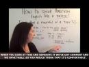 Learn English - How To Speak American English Like a Native Speaker