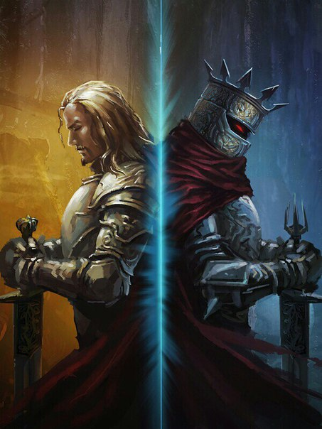 – Опять вы, – поморщился Темный Властелин.