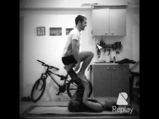 Акро йога в Сочи