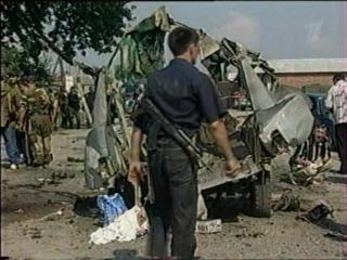 ОРТ Новости - Взрыв в Знаменском (06.05). www.warchechnya.ru