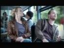 Девушка и мужик в автобусе