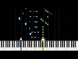 Чайковский П.  И. -   Танец Маленьких Лебедей -50% speed- Piano Tutorial(Synthesia)
