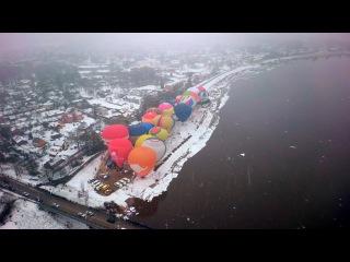 Видео с фестиваля воздушных шаров Love Cup 2016