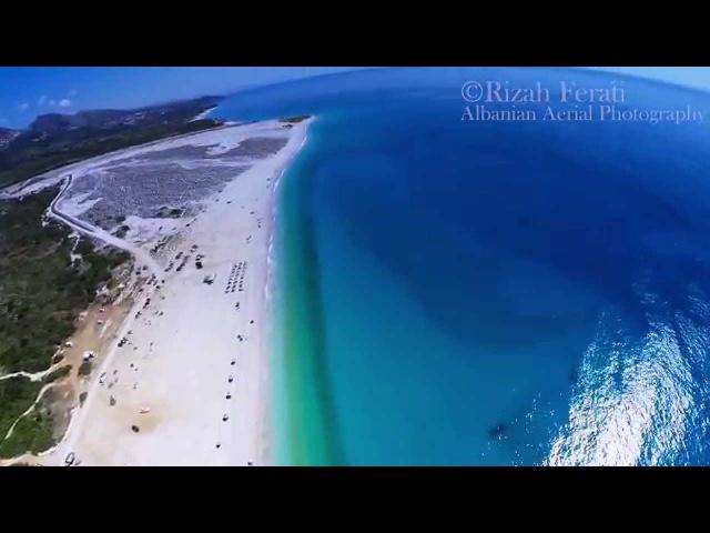 Albanian paradise Dhermi Beach Palase and Drymades