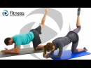 Pilates Abs, Butt and Thigh Workout - Intense Pilates Workout for Lower Body Core