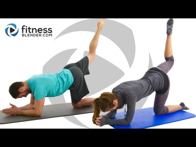 Пилатес-тренировка пресса, ягодиц и бедер - Интенсивная пилатес-тренировка для нижней части тела и корсетных мышц. Pilates Abs, Butt and Thigh Workout - Intense Pilates Workout for Lower Body Core