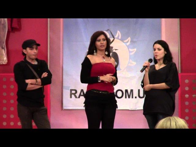 Isadora Cup. Randa Kamel about folkor. I