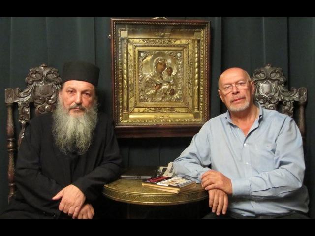 3.Беседа Эдуарда Ходоса с афонским старцем Афанасием