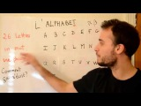 Beginner Easy to Learn French lesson letter l'alphabet  alphabet pronounciation
