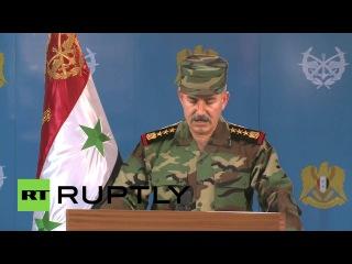 Сирия: Армия имеет данные, что Турция