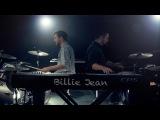 Billie Jean - Michael Jackson - Michael Henry &amp Justin Robinett Dueling Piano Drum Cover