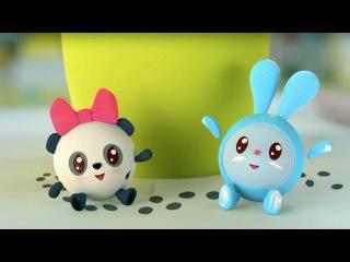 Малышарики - Неизвестные следы (5 серия). Новый развивающий мультфильм для малышей