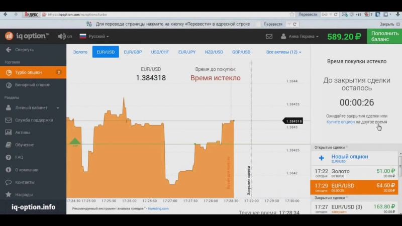 2000 рублей в день на опционах!
