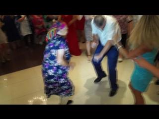 Бабуля зажигает - конкурс на свадьбе