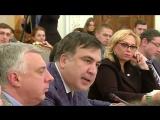 Аваков VS Саакашвили: видеозапись скандала