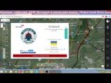 Обзор карты боевых действий на Донбассе от 19.01. 2016 г.