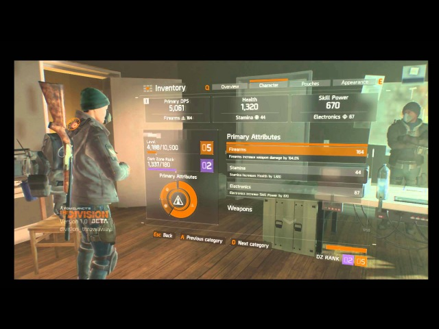 The Division BETA Hacking POC - Clientside Rank Info