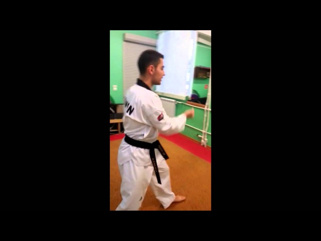 Taekwondo WTF. 4 Пхумсэ Тэгук Са Джян.