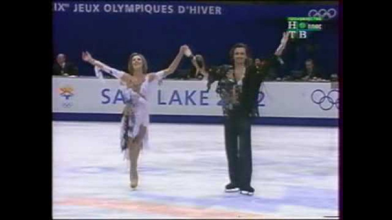Olympics 2002 FD Irina Lobacheva Ilia Averbuck