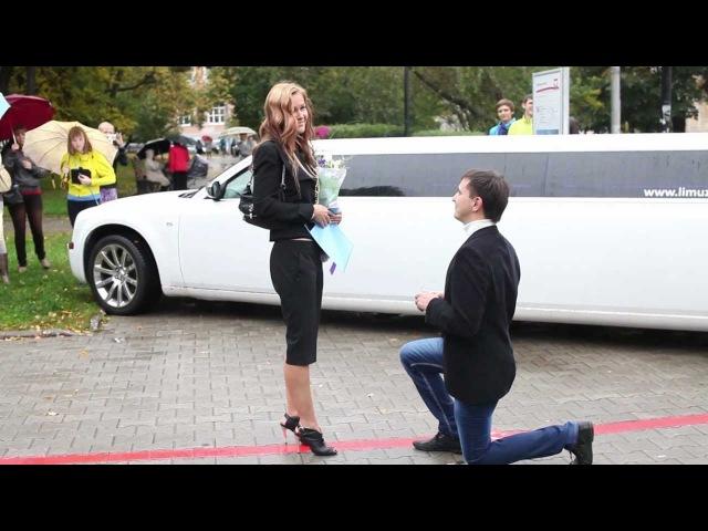 FLASHMOB Proposal 1 / ФЛЕШМОБ, как самое необычное предложение руки и сердца в Перми! 1