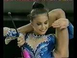 Алина Кабаева - булавы // Aeon Cup 1998