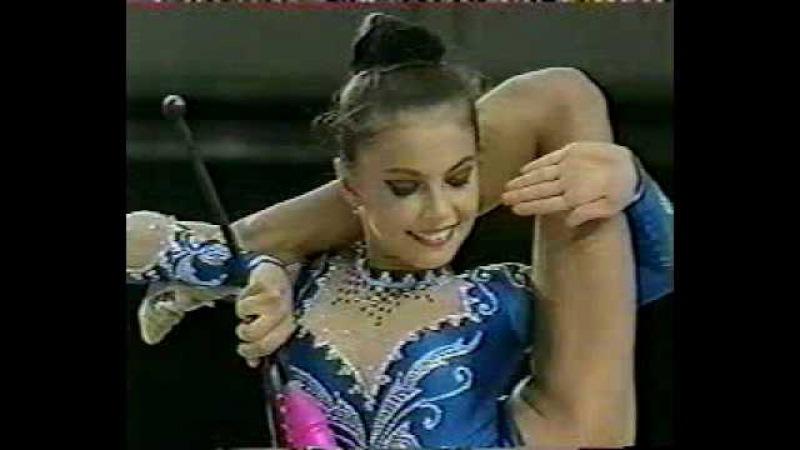 Алина Кабаева булавы Aeon Cup 1998